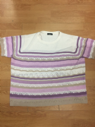Pink/Purple Knitted Top